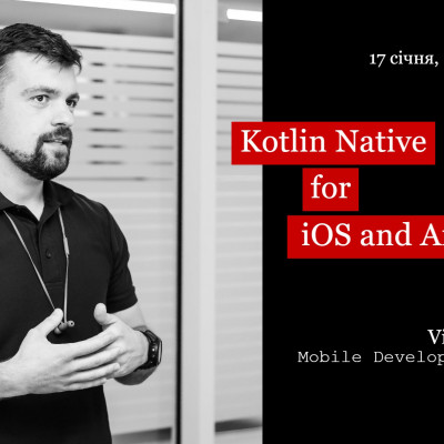 Kotlin Native for iOS and Android